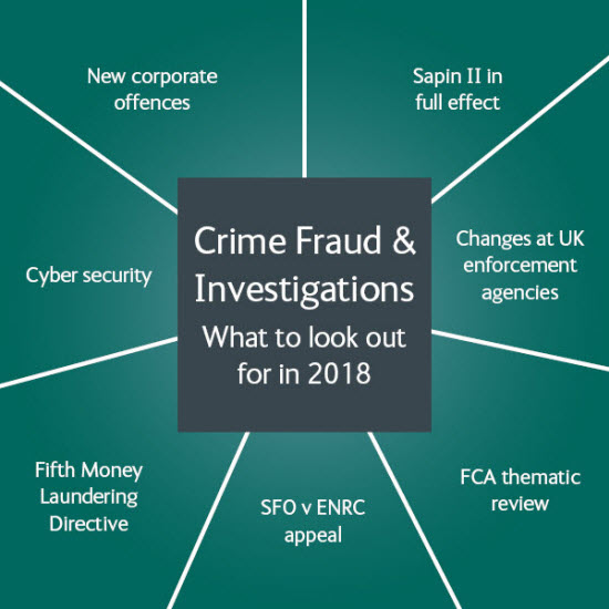 Crime, Fraud & Investigations: What to look out for in 2018 - topics